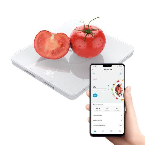 Blitzwolf® BW-SC4-Pro Smart Kitchen Scale - Nutrition Data Management in the App