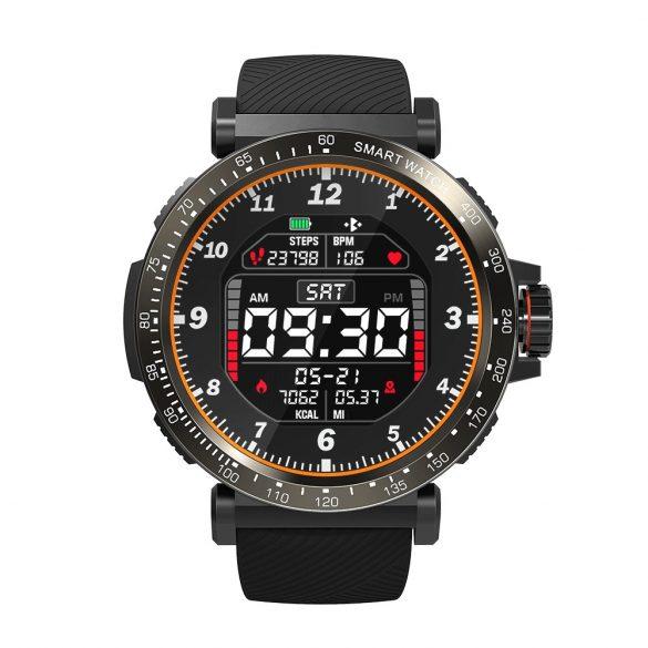 BlitzWolf® BW-AT1 1.3' IPS 8 Sports Mode IP68 Multi-language Display HR Blood Pressure O2 15Days Standby Smart Watch