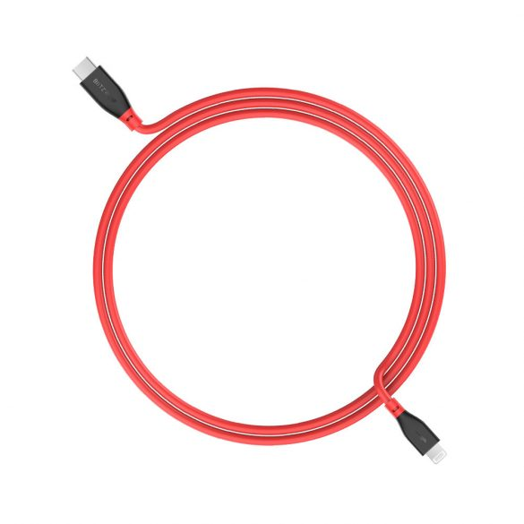 PD3.0 Type-C to Lightning, BlitzWolf® BW-CL2 PD 3.0 1ft/0.3m 3ft/0.91m MFi Certified Type-C to Lightning Cable with 3A PD Charging, Steady Data Transfer, Long Lifespan, Quality Construction