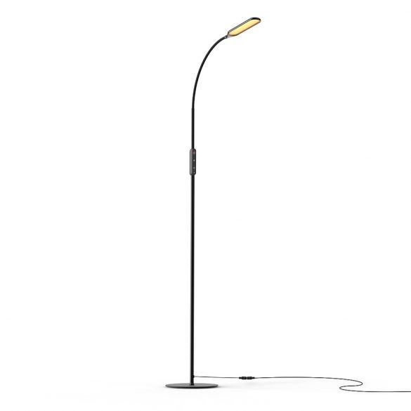 Minimal design standing lamp - BlitzWolf® BW-LT28 - 600LM, variable color temperature and brightness, remote control