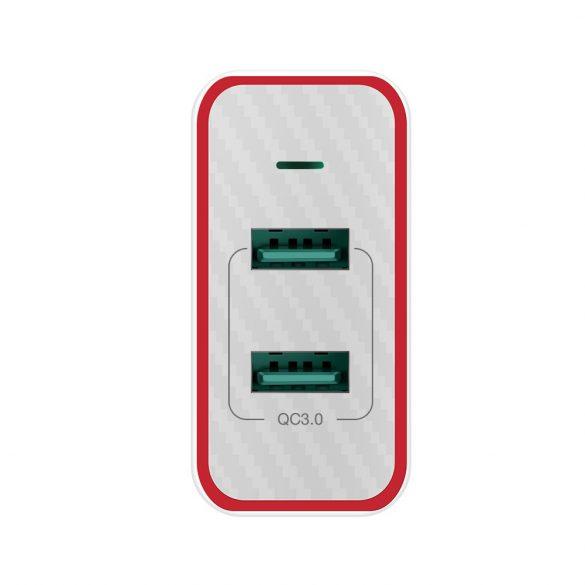 36W 2-Ports QC3.0 USB Fast Charger - BlitzWolf® BW-PL3 Unique Design, Multi-layer Protection
