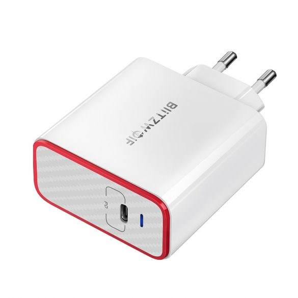 45W 1-Ports USB PD Charger - BlitzWolf® BW-PL4 USB C Type, PD Charger with Power3S, Unique Design, Multi-layer Protection