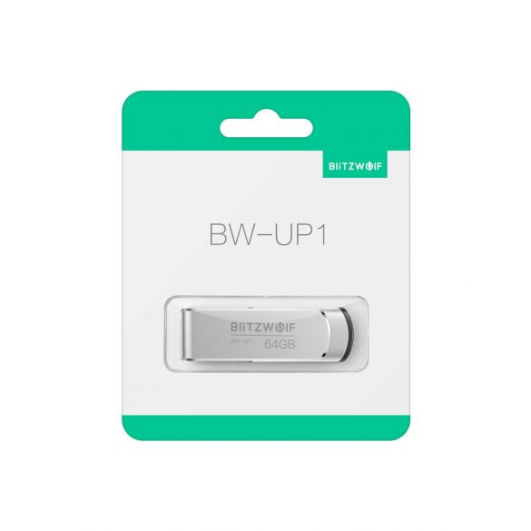 USB 3.0 Flash Drive - BlitzWolf®BW-UP1, High Speed USB3.0, High Capacity, 360°Rotating Cover, Stylish and Portable Design, Durable Materials