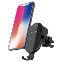 BlitzWolf® BW-CW1 Wireless Charger Car Phone Holder