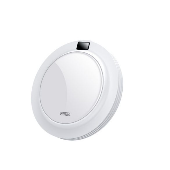 JOYROOM JR-A16 + AC Quick Charger - glass plate, display, 18W wireless quick charger for all QI compliant phones - white
