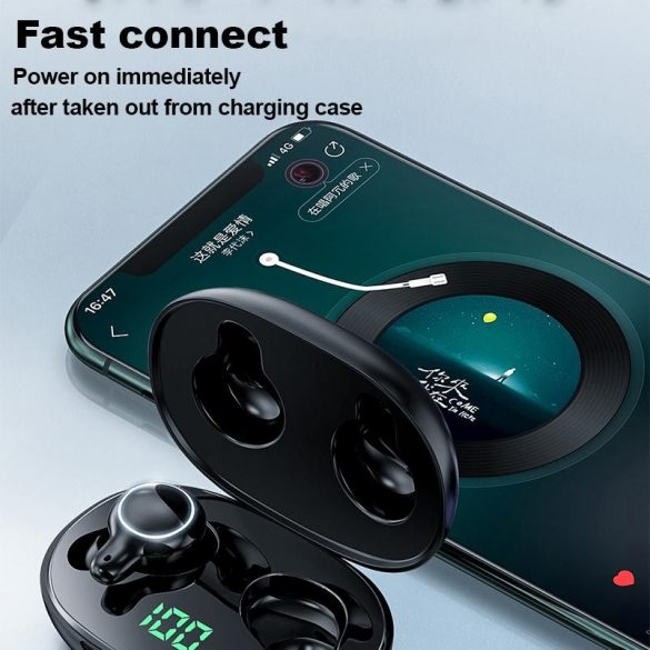 JOYROOM JR T12 - Wireless bluetooth 5.0 headset, charge indicator
