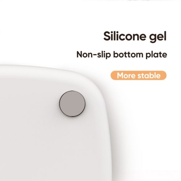 Joyroom desk phone holder, 260 mm high, aluminum body - black