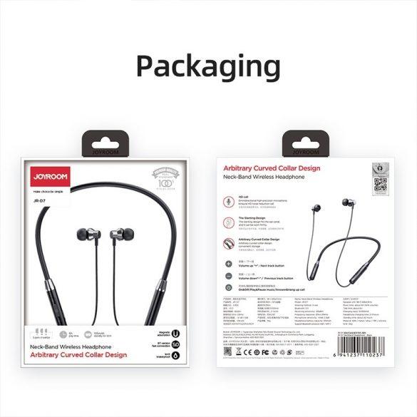 Joyroom JR-D7 red - Neckband Bluetooth Headset