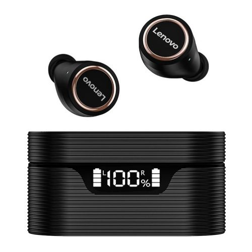 Lenovo LivePods LP12 Wireless Headset - Noise reduction, power indicator, IPX5, 30 hours of operation