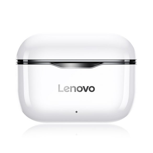 Lenovo LivePods LP1 TWS Wireless Headphones Bluetooth 5.0 Dual Stereo Earphones with Microphone A Touch Control Long Standby 300 mAh IPX4 Waterproof Headset Noise Reduction Charging Case