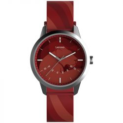 Lenovo Watch 9 waterproof hybrid smart watch, IP67 water resistance - red