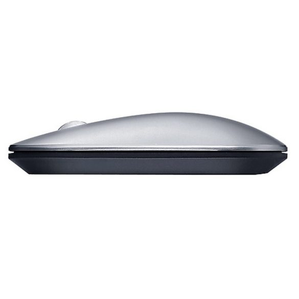 Lenovo Air2 Wireless Mouse - Bluetooth + 2.4 GHz Wireless Connection, 10 Meter Range - Silver