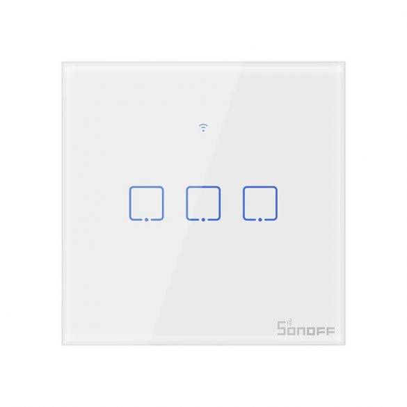 Sonoff® T0 Smart Wall Switch - can integrate with Amazon Echo, Google Home and IFTTT
