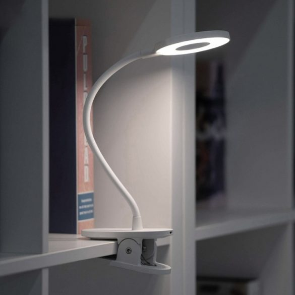 Clip-on Flexible Lamp Xiaomi Yeelight J1 Clamp, 3 Brightness Levels, 3900K Color Temperature, Eye Protection, Touch Button, Free Angle