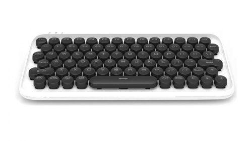 Xiaomi Youpin LOFREE Mechanical keyboard - mechanical (blue switch keys) RGB LED lighting, wired and wireless use - white