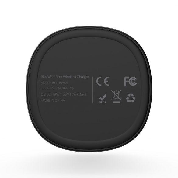BlitzWolf® BW-FWC6 5W 7.5W 10W Foldable Wireless Fast Charger Charging Pad