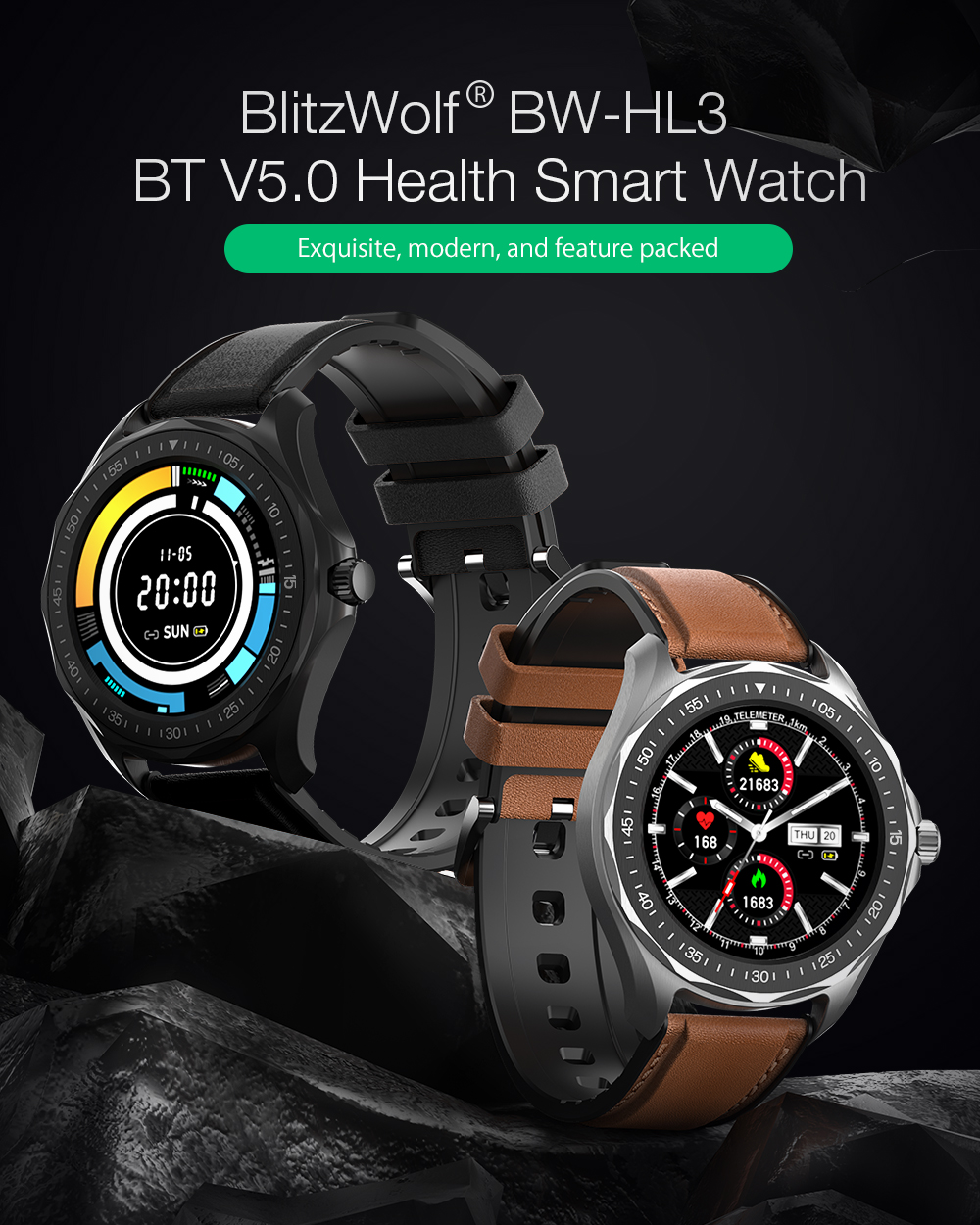 Blitzwolf BW-HL3 smart watch
